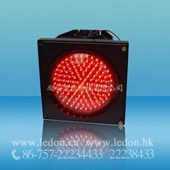 200mm One Unit LED Full Ball Traffic Light