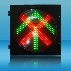 400mm一單元車道指示組合型LED交通燈