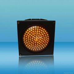 300mm Yellow Flash Alarm LED Traffic Signal Light