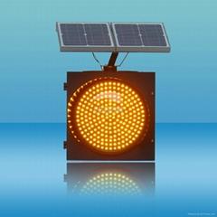 300mm Solar Assemblage LED Traffic Signal Light