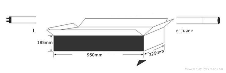 2012新款 3528 LED 日光灯管 5
