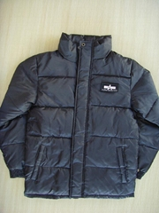 Alpha bubble down jacket