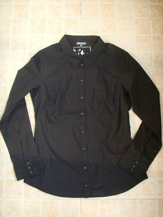 基本款女式弹力修身衬衣衬衫 1