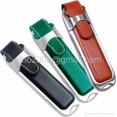 leather usb flash disk,leather usb key, promotional leather usb gift,