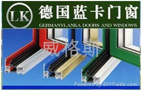 北京蓝卡断桥铝门窗 1