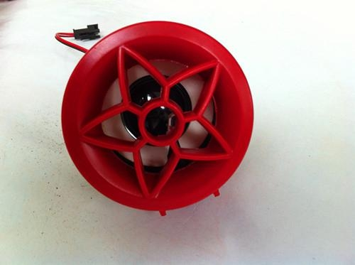 New design,alarm on motorcycle  with speaker in red color 4