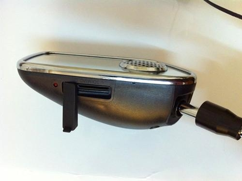 Motorcycle MP3 Rear-view Mirror with Alarm 2