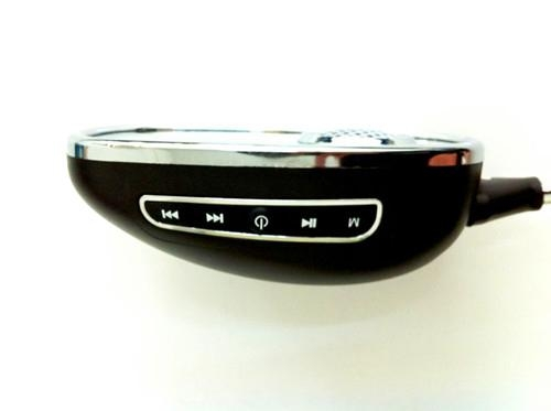 Bluetooth Motorcycle Mirrors in sliver color 3