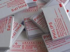 厂家供应非接触IC卡M1卡(原装S50,原装S70,复旦兼容