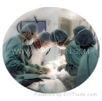 Nonwoven fabric use for medical treatment