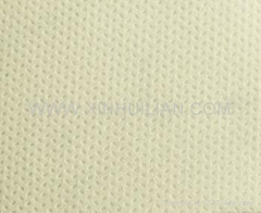 Nonwoven fabric with sesame design