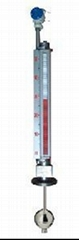 Top-mounted Magnetic Floating Ball Liquid Level Indicator