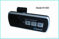 TTS function Bluetooth Handsfree car kit HF-600