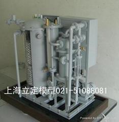 上海立定船用油水分離裝置模型