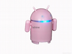 Android robot mini speaker with