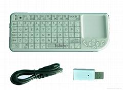 2.4Ghz mini wireless keyboard with