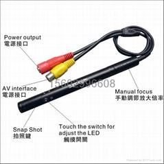 手动调焦便携AV显微镜