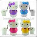 Lovely Cartoon 4GB 3D Hello Kitty USB