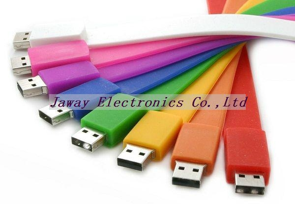 Promotional 1GB Silicone Wrist Band Style USB 2.0 Flash Memory Stick Pen Drive 2
