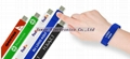 Promotional 1GB Silicone Wrist Band Style USB 2.0 Flash Memory Stick Pen Drive 5