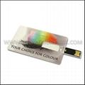 Custom Full Color Printing Credit Card USB Flash Drive 2