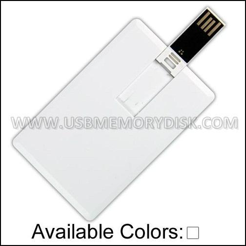 Custom Full Color Printing Credit Card USB Flash Drive 4