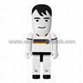 Custom Football Player People USB 2.0