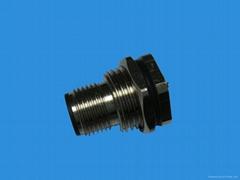 传感器连接器针式插座(前板安装)