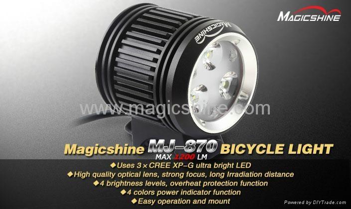 Magicshine Cree XP-G Bicycle Light 2