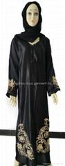 穆斯林黑色女袍