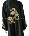 穆斯林黑色女袍   2