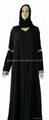 穆斯林时尚黑色女袍