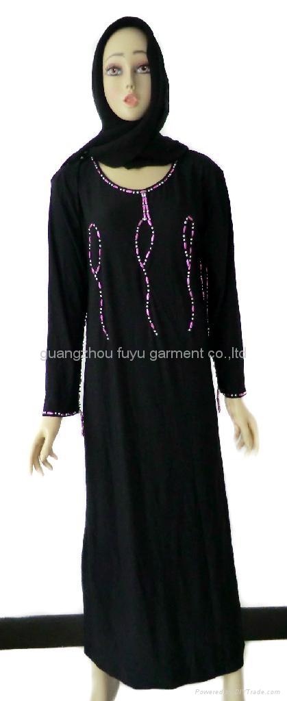 穆斯林黑色女袍 1
