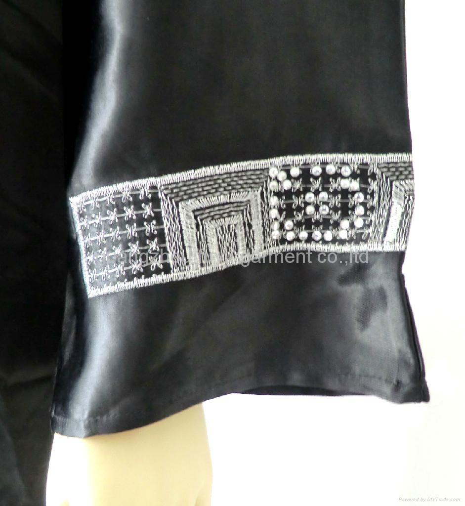 穆斯林黑色女袍 3