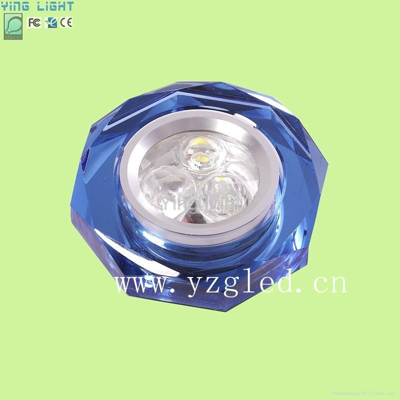 酒店LED水晶天花射燈 1