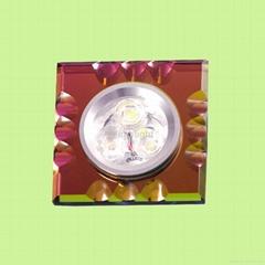 3W大功率LED 水晶射灯