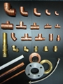 Copper pipe fittings & valves