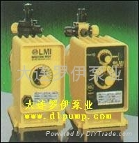 LMI电磁驱动机械隔膜计量泵