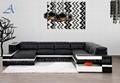 Afosngised Popular Leather Sofa Set