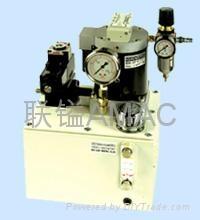供應臺灣聯鎰AMAC   ABP氣動增壓泵浦