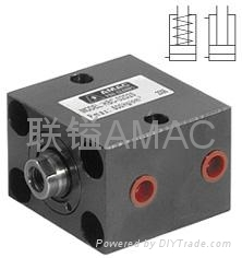 HBC块型油压缸