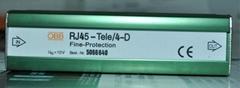 OBB電話防雷器RJ45-Tele/4-D