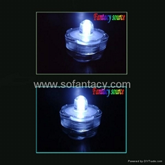 hot selling led waterproof candle led Submersible Candle ,flower shape