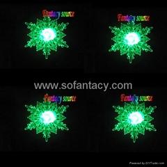 led snowflake for christmas,led christmas gift