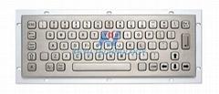 Rugged Metal Keyboard