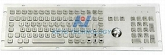 Kiosk Keyboard with Trackball and Numeric keypad