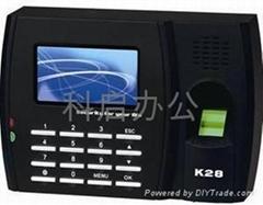廣州中控K28指紋考勤機