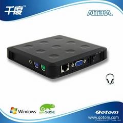Qotom-N13電腦共享器網線連接 不限距離