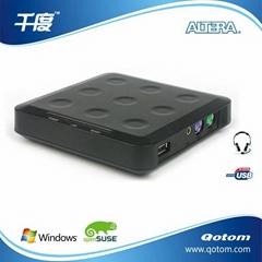 電腦共享器 網線連接 Qotom-N20
