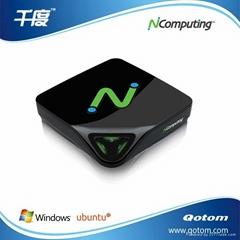 NcomputingL300終端機 支持視頻全屏播放